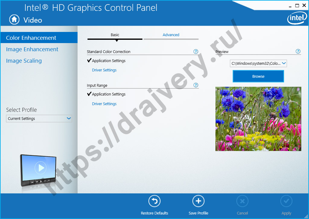 intel hd graphics 4600 drivers windows 10