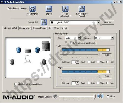m-audio project mix i/o drivers